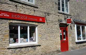 Borzoi Bookshop in Stow on the Wold
