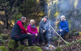 Forest of Dean, bushcraft, fire, experiences