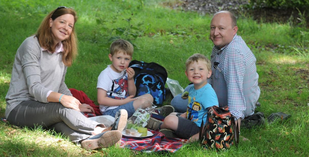 Father's Day at Batsford