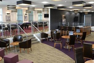 Phoenixetc at the Fire Service College - the bar area