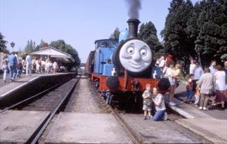 Day out with Thomas the Tank Engine at GWR