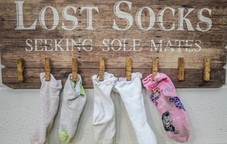 Cotswold Clubhouse - lost socks