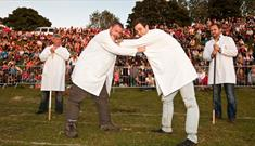 The Shin Kicking World Championships at the Cotswold Olympick Games