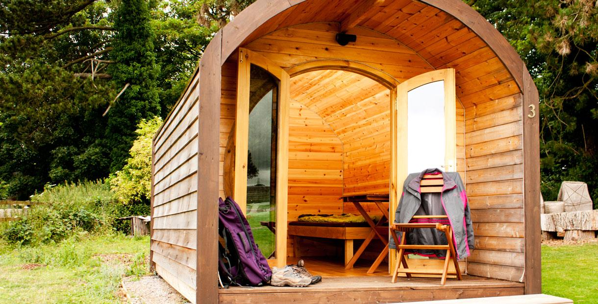 National Star Camping Pods