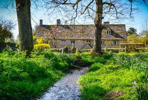 Swinbrook in spring time (photo Derek Hall)