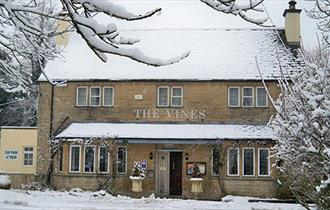 The Vines - a snowy exterior!