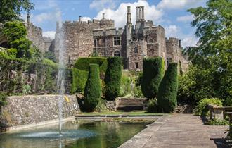 Elegant Champagne Afternoon Tea at Berkeley Castle