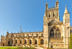 Experience 1000 years of history at Gloucester Cathedral