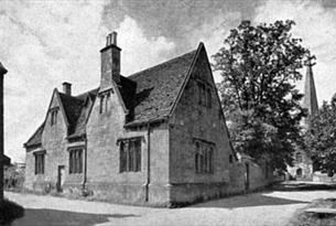 The Old Grammar School Building in Bampton