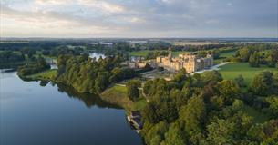 Blenheim Palace aerial photo
