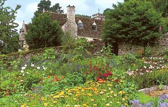 The gardens of Owlpen Manor