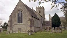 The Church of the Holy Rood in Shilton (photo courtesy of Derek Cotterill)