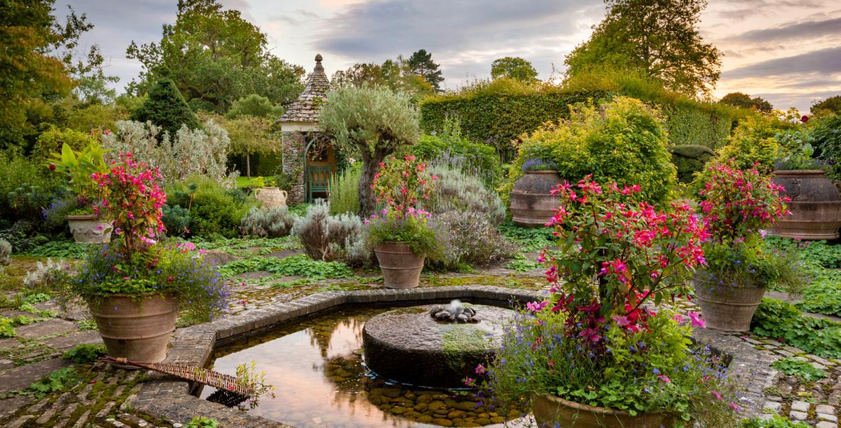 Highgrove Gardens - The Terrace Garden