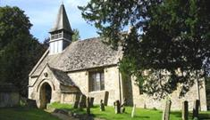 St Mary's Church in Westwell (photo courtesy of Oxfordshire Churches)